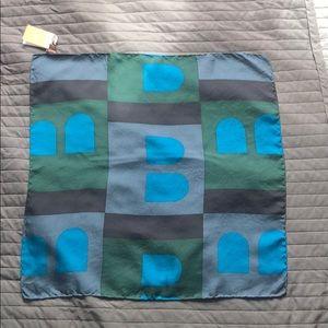 Bally silk scarf NWT